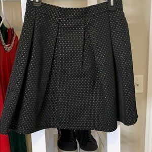 Pleated A Lone Skirt